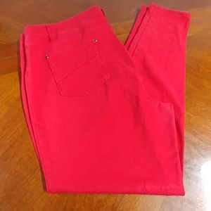 Red faded glory jeggings